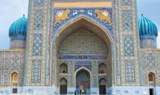 Tour Uzbeksistan: la Madrasa di Sher Dor, Registan, Samarcanda