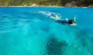 Snorkeling lungo le coste nipponiche