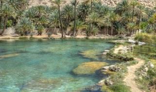 Wadi: le oasi nel deserto dell'Oman