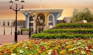 Le meraviglie dei viaggi in Oman: Qasr Al Alam Royal Palace