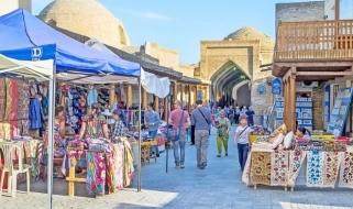 Il mercato turistico di Bukhara: meta da non perdere durante un viaggio in Uzbekistan