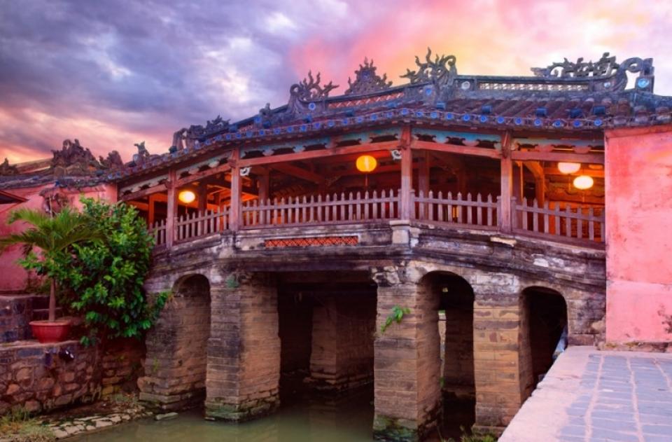 Vietnam del Nord cosa vedere: il Ponte coperto giapponese di Hoi An