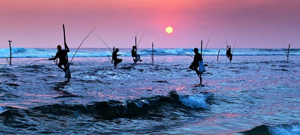 Tour di gruppo in italiano in Sri Lanka - Pescatori srilankesi