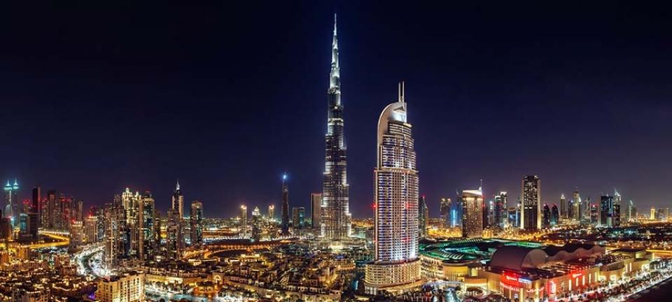 Skyline da non perdere durante un fine settimana a Dubai