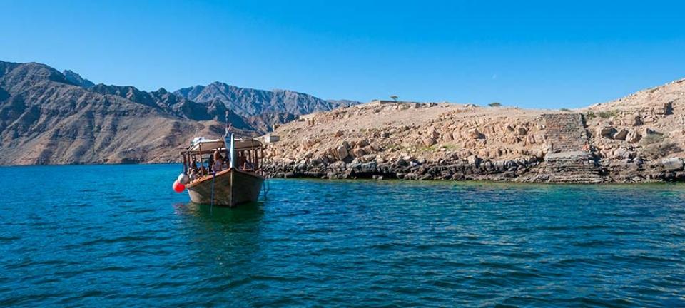 Escursioni Oman: paesaggio marino
