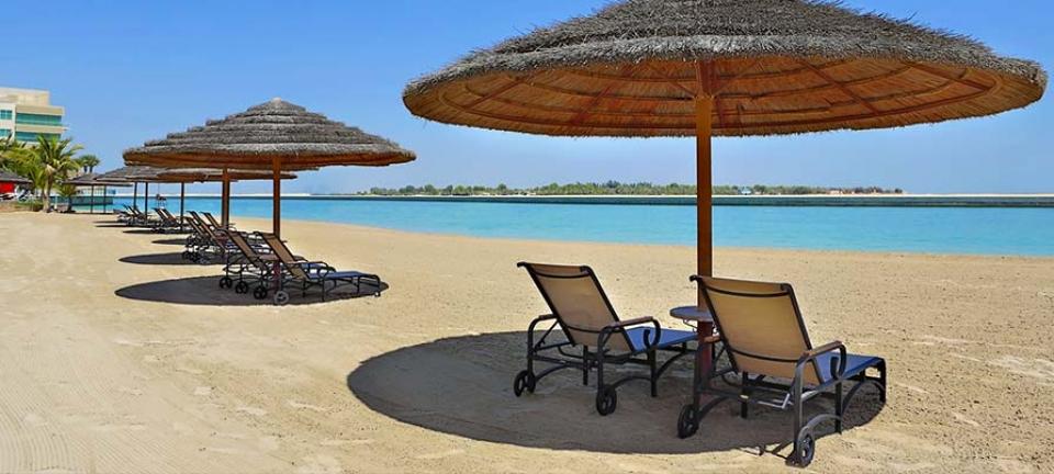 Vacanze mare a Dubai ed Abu Dhabi - Vista della spiaggia