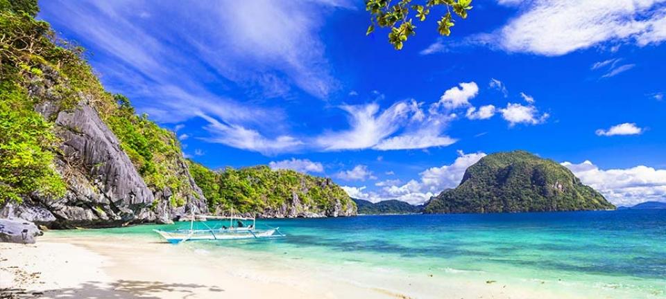 Filippine: spiaggia paradisiaca