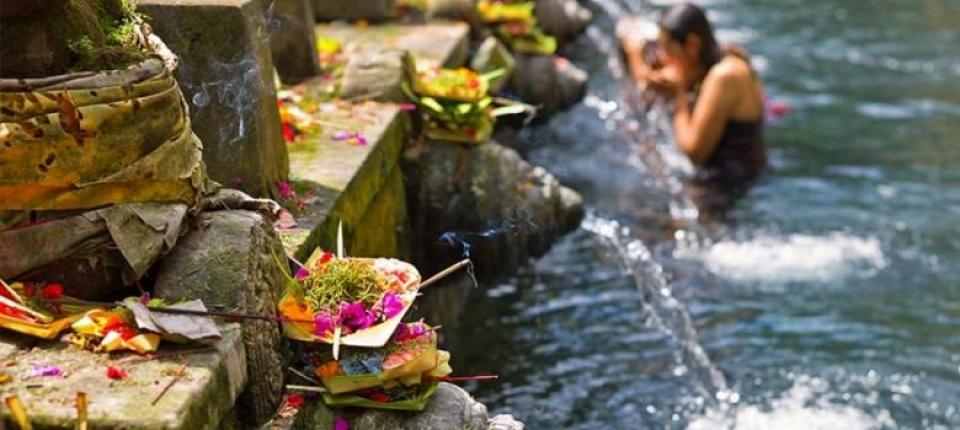 Vacanza a Bali - Tempio di Tirta Empul