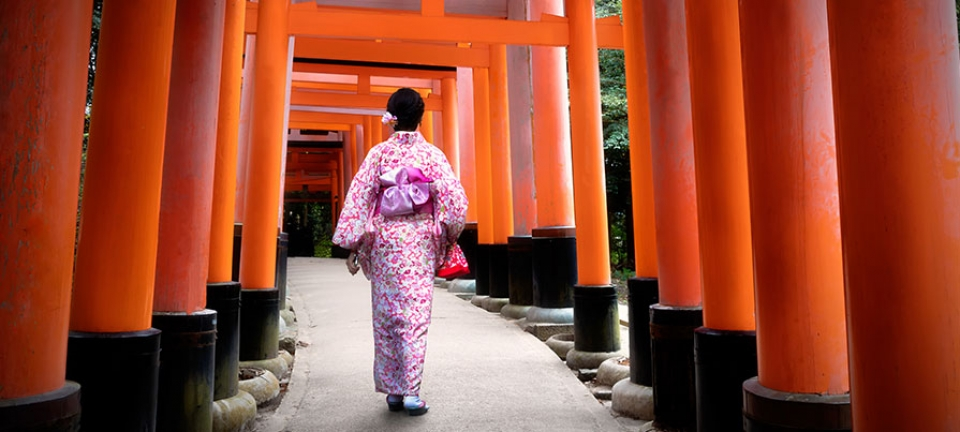 Kimono tradizionale
