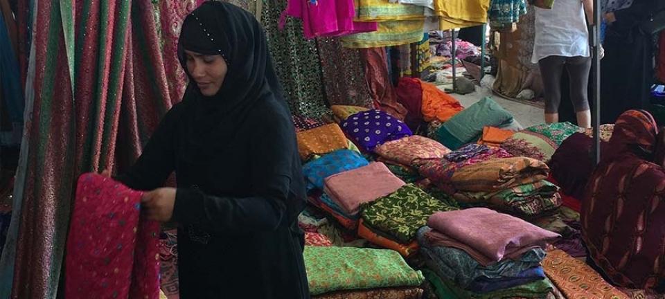 Cosa comprare in Oman: le stoffe