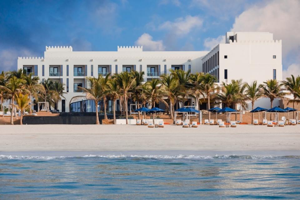 Resort sulla spiaggia a Salalah
