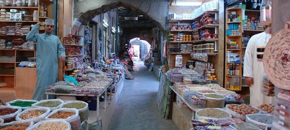 Prodotti alimentari da acquistare in Oman