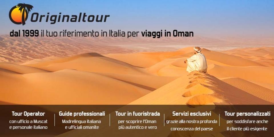 tour operator specializzato in viaggi in Oman