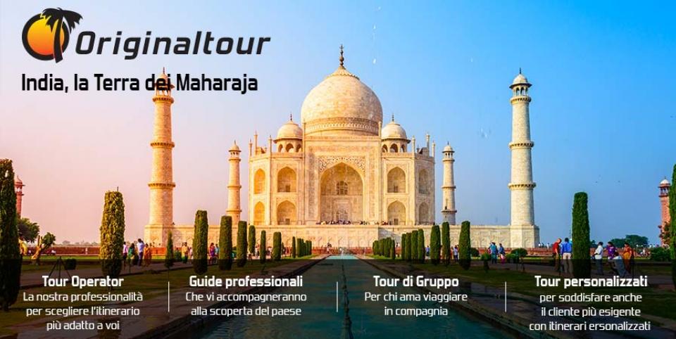 Viaggio in India - il celebre Taj Mahal